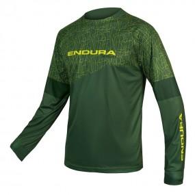 Блуза дъл ръкав Endura MT500 Print T LTD