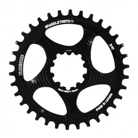 Плоча за курбели Blackspire Snaggletooth Narrow/Wide за курбели SRAM с директен монтаж
