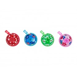 Bicycle Bell RMS Flowers Alumunium 45mm mix color