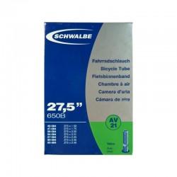 """Schwalbe 27.5"""" AV40 Tube"""