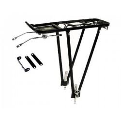 Rear carrier 24/26/28 aluminium black