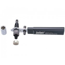 Tool IceToolz 04A5 Deluxe crank extractor tool with handle.