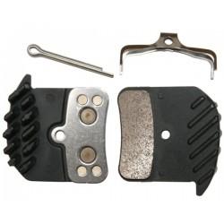 Shimano BR-M820 Disk Brake Pads - Metal (H03C)
