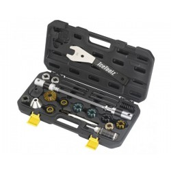IceToolz BB tapping & head tube reaming set E185