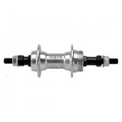 "Hub rear Hub rear SF A213 36H Alloy 3/8""x135x185 Silver Standart axle with nuts"