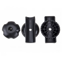 Peruzzo Knob Assembly with Short Bolts 30mm