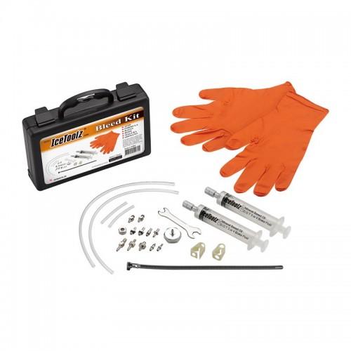 IceToolz 54R2 Disc Brake Bleeding Kit