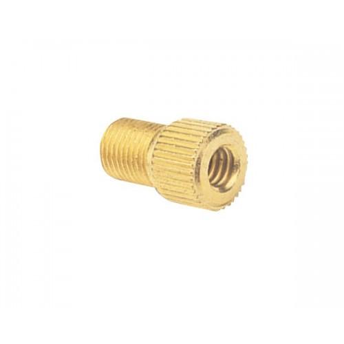 Zefal Brass Adaptor For Presta / Dunlop Valve