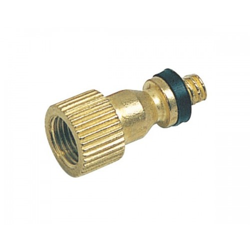 Zefal Brass Adaptor For Schrader Valve