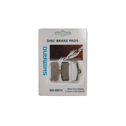 Shimano Saint BR-M810 Resin Brake Pads (D01S)