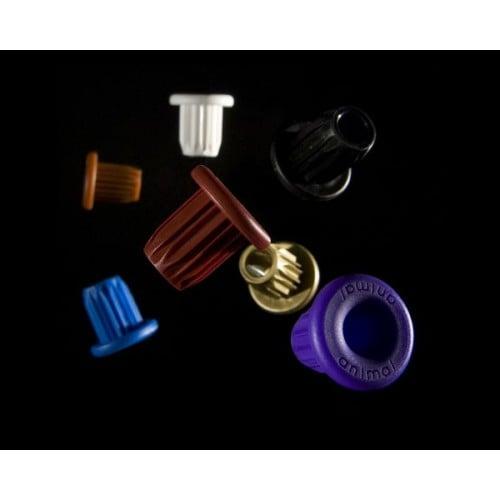 Top Cap Animal PVC Handlebar plug insert coloured pair