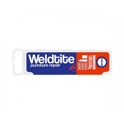 Weldtite Cycle Puncture Repair Kit With Tyre Levers