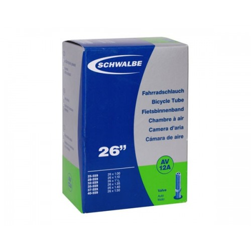 "Schwalbe 26"" x 1.00 - 1.50"" AV Tube"