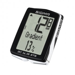 Sigma Sport BC 14.16 ALTI STS CAD Wireless Bike Computer With Altimeter And Cadance