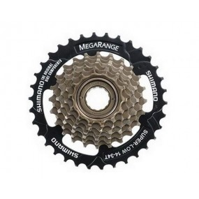 Cassette sprocket SH MF-TZ20 6 speed CP