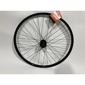 Rear wheel 27 Klix 32H B/A NT D162SB-SL black/black spokes st