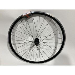 Rear wheel 28 Mach550 28H B/A+CNC KT-G5ER black black spokes st