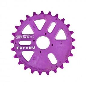 Chainring BMX DMR Spin 27T purple