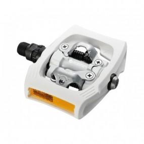 Pedals SH PD-T400 Click`R 9/16 SPD white