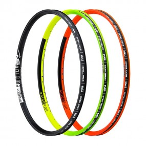 Bicycle rim 27.5 NS Enigma Dynamal 32H lime