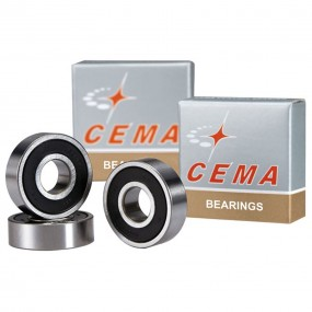 Steel bearing CEMA 6803 17x26x5 for D411SB silver