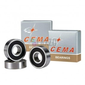 Steel bearing CEMA 699 9x20x6 for AS511SB silver
