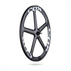 Front Wheel 28 COX 5 WING Tubular Track pack