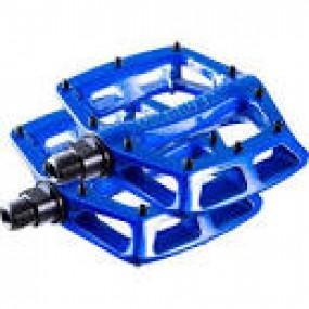 Pedals DMR V8 9/16 blue neon