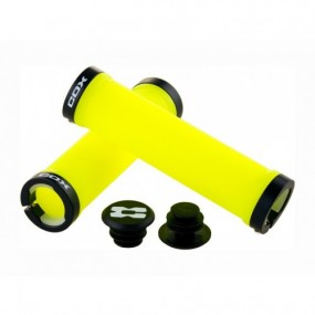 Handlebar grip COX Neon Lock 130mm
