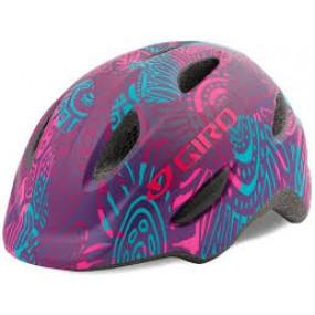 Helmet children Giro Scamp S purple pink blue