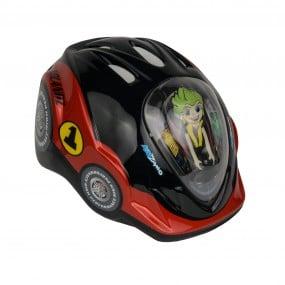 Helmet children DRAG Kidzamo М red car