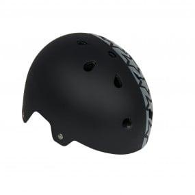 Helmet children DRAG Xcool S BMX black with stars