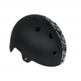 Helmet children DRAG Xcool М BMX black with stars