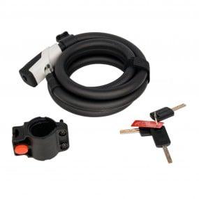 Bicycle locks Spiral COX UKS2.0 URBAN 15x1800 key