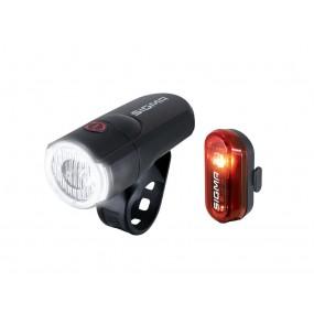 Head light/Tail light Sigma Aura 30 black