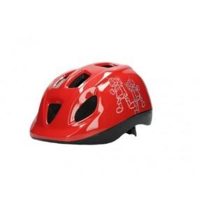 Helmet children DRAG Robot S red light blue