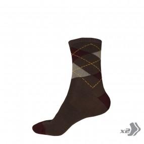 Socks Endura Argyll 2-pair