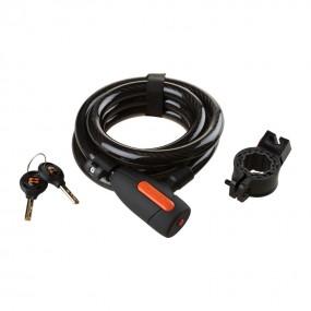 COX Urban Key Spiral Lock 15X1800
