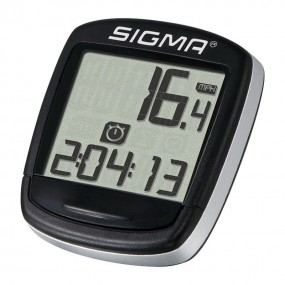 Bicycle computer Sigma sport Base 500 wireless black gray