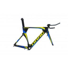 Frame+ fork Stallion 700Cx540 TT BSA black yellow