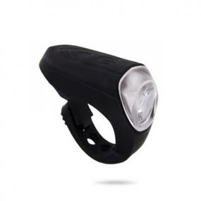 Head light RideFIT Steady Silicon 40 USB black