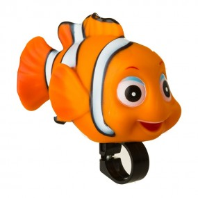 Bicycle rubber horn with animals Soft RideFIT Nemo