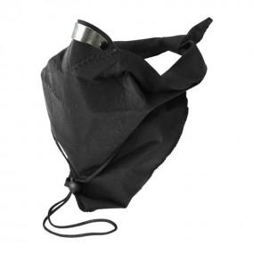 Bandit Scarf Plain Black