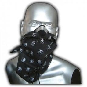 Bandit Scarf Skull Black