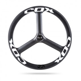 Front Wheel Cox 3Wing Tubular Road