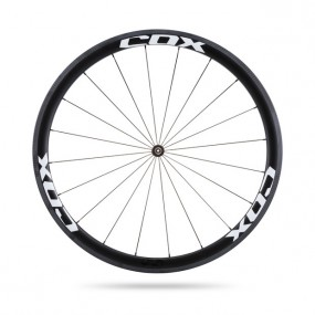 Front Wheel Cox Drome 40 Tubeless Clincher