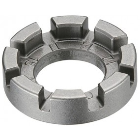 Tool IceToolz Precise 8-groove spoke Tool, for 14-15G.