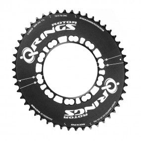 Chainring Rotor Q53AT Aero BCD110x5 53T