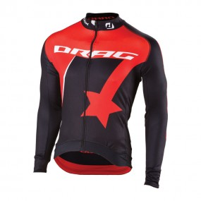 Drag Active Long Sleeve Cycling Jersey
