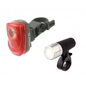 Sigma Sport Quadro X Front Light + Tail Blazer Rear Light Set